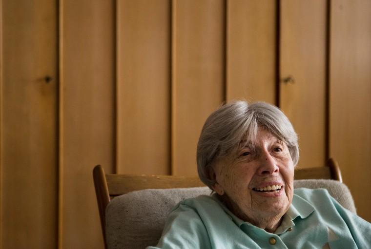 Image: Auschwitz survivor and author Trude Simonsohn