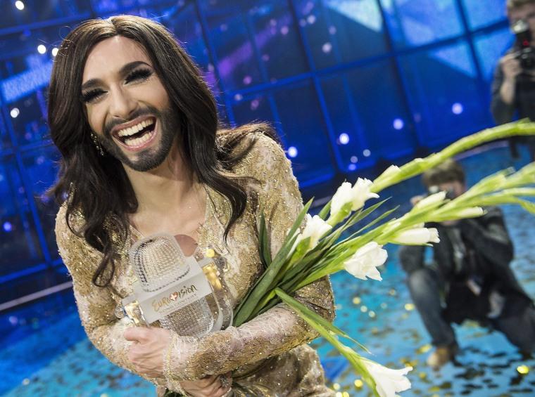 Austria's 'Bearded Lady' Conchita Wurst Wins Eurovision Contest