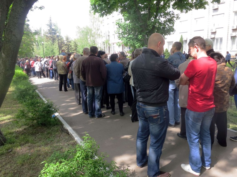 Image: UKRAINE-RUSSIA-CRISIS-POLITICS-REFERENDUM