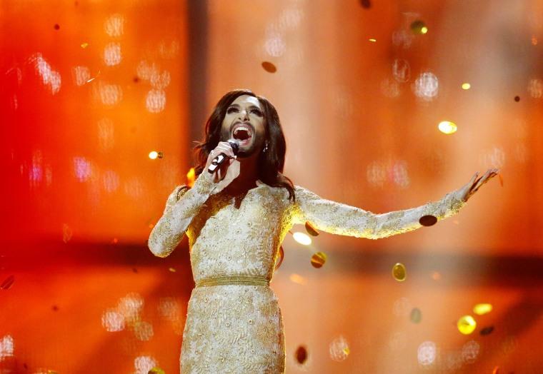 Image: Singer Conchita Wurst representing Austria