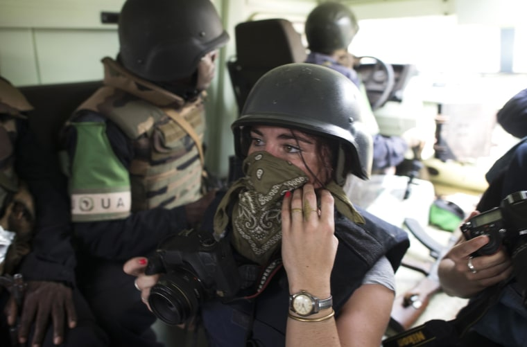 Image: French journalist Camille Lepage