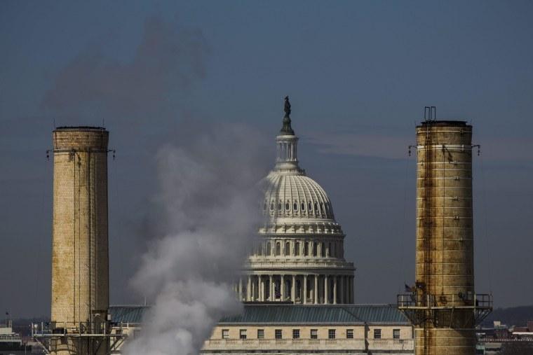 Image: Senators Speak Through Night on Climate Change in DC