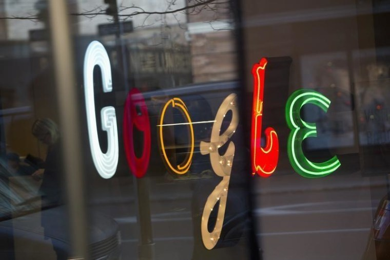 Image: Google signage at offices in New York