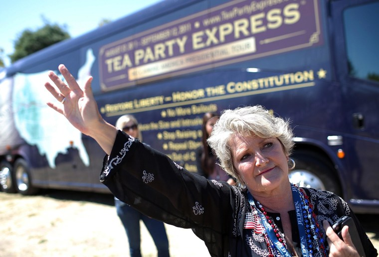 Tea Party Express Launches Nationwide Bus Tour With Rally In Napa, CA