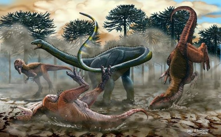 Mini Longneck Dinosaur Discovered in South America