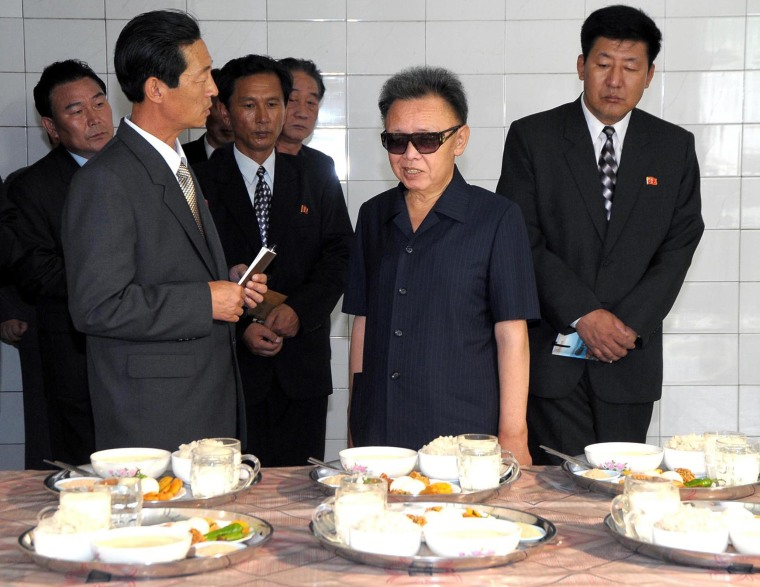 Image: Kim Jong Il in 2009