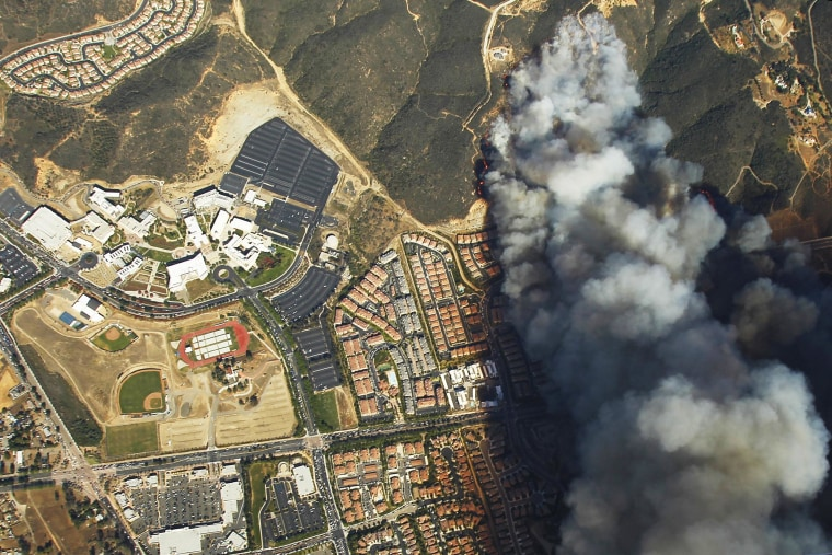 Image: California Wildfires 2014 - Cocos Fire