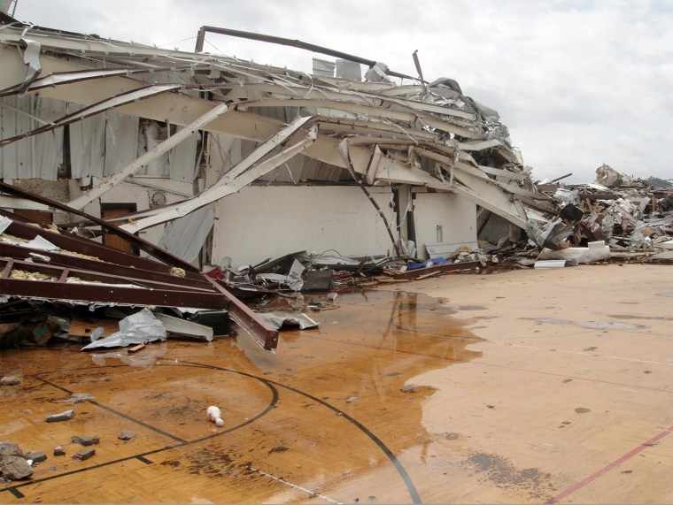 Image: Briarwood Elementary in Moore, Okla.