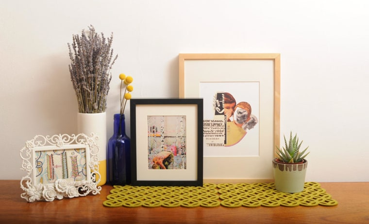 Image: Paper prints featuring art from Papirmass