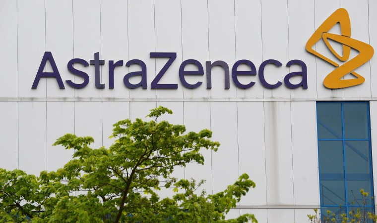 Image: AstraZeneca manufacturer site in Macclesfield, England
