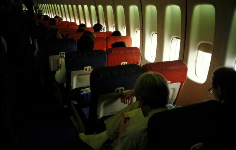 Germs on a Plane: Bacteria Can Linger for Days, Study Finds