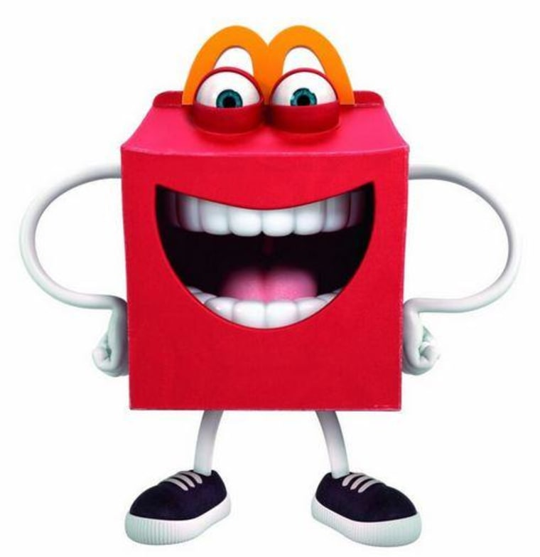 Happy mascot