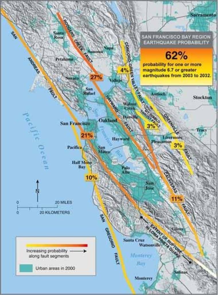 Image: Quake risk