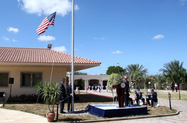 U.S. embassy in Tripoli