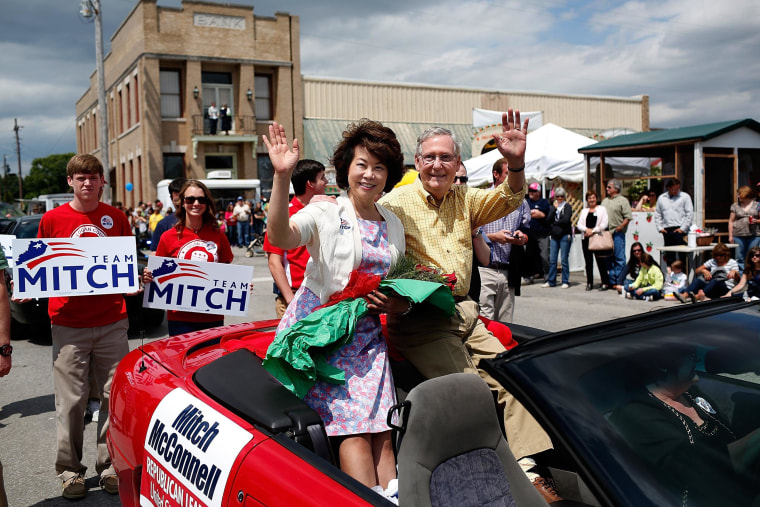 Image:  Senate Minority Leader Sen. Mitch McConnell