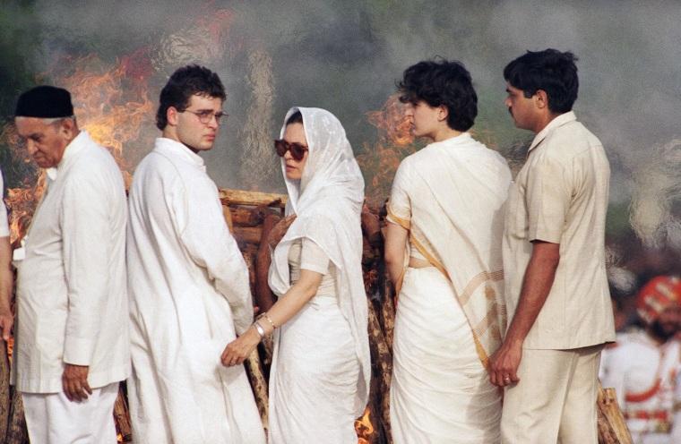 Sonia Gandhi, Rahul Gandhi, Priyanka Gandhi