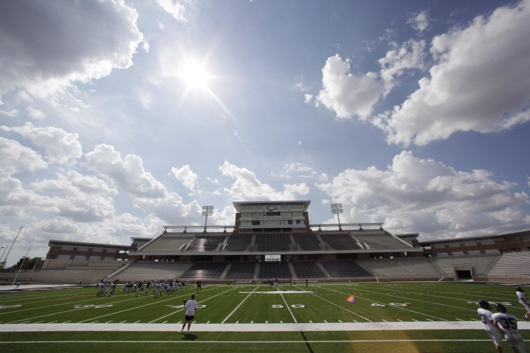 Image: Eagle Stadium at Allen High School in Allen, Texas