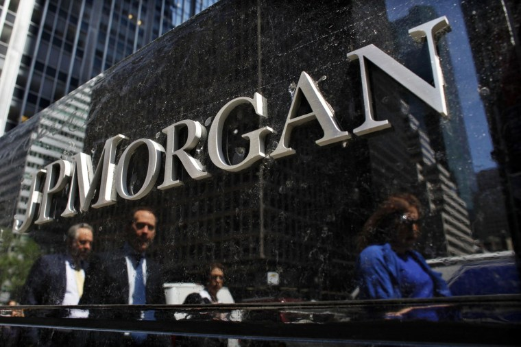 JP Morgan and two other banks were charged by the European Commission with rigging financial benchmarks linked to the euro.