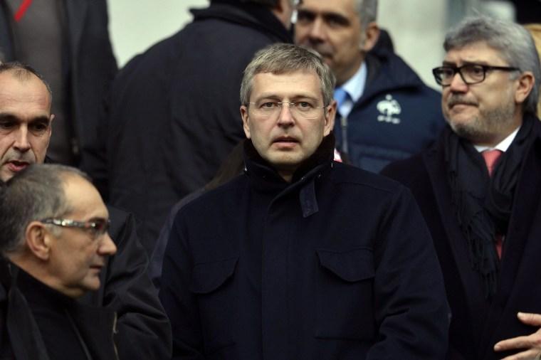 Image: Monaco Football club 's Russian President Dmitri Rybolovlev