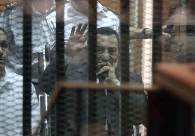 Image: Egypt's deposed president Hosni Mubarak