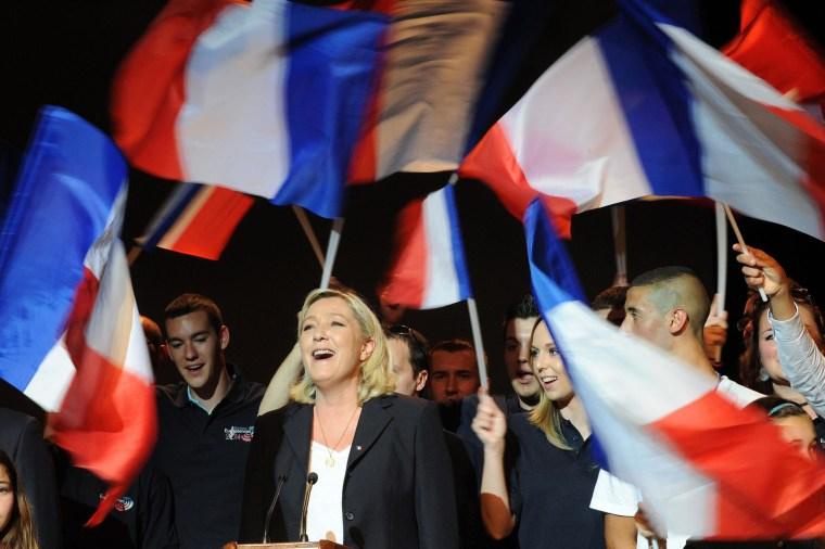 Image: FRANCE-POLITICS-EU-VOTE-FN