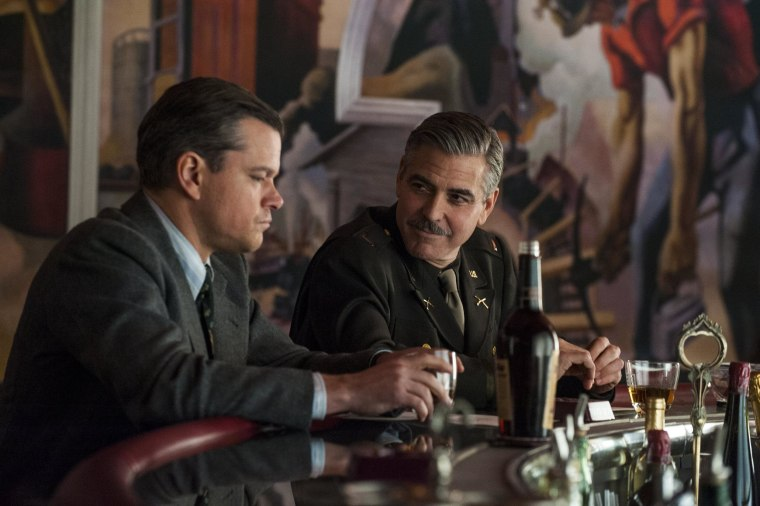 """Image: George Clooney in \""""The Monuments Men\"""""""