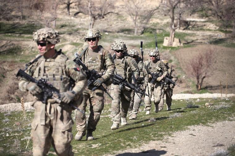 Image: US Troops Patrol Village In Afghanistan's Logar Province