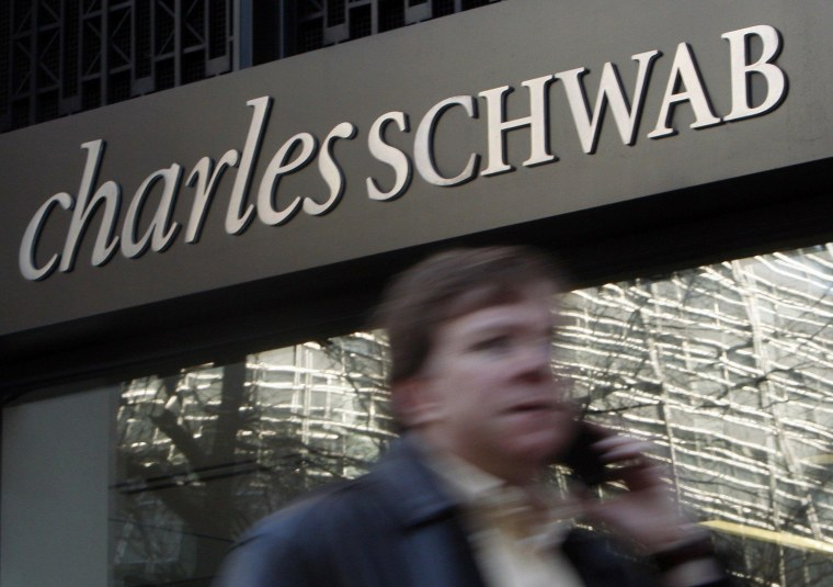 The SEC is investigating brokerages Charles Schwab and Merrill Lynch for possible violations of money-laundering rules.