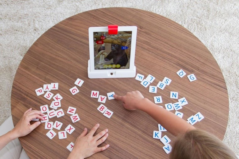 The word-finding game can be played competitively or cooperatively.