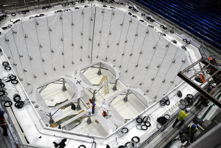 Image: China Daya Bay Reactor Neutrino Experiment