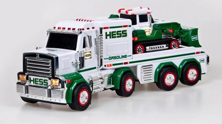 Image: A Hess toy truck
