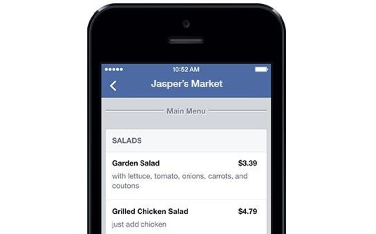 Like What You Eat: Facebook Adds Menus to Restaurant Pages