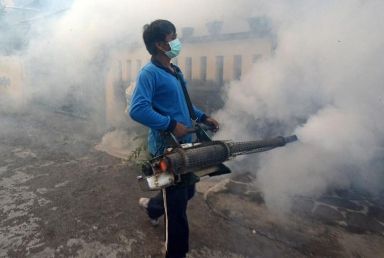 Image: TOPSHOTS-INDONESIA-HEALTH-DENGUE