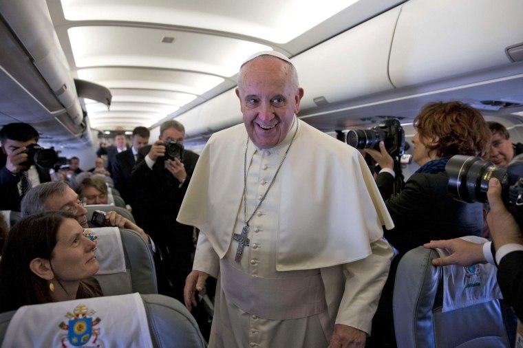 Image: JORDAN-VATICAN-RELIGION-POPE