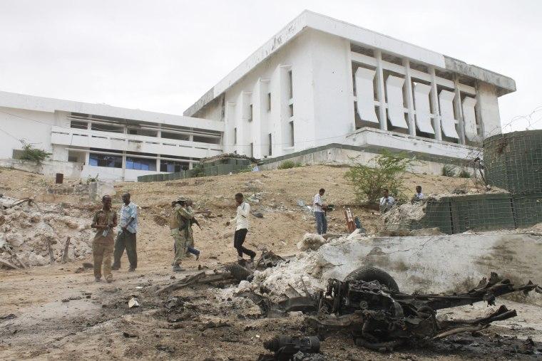 Image: SOMALIA-UNREST-ATTACK-PARLIAMENT