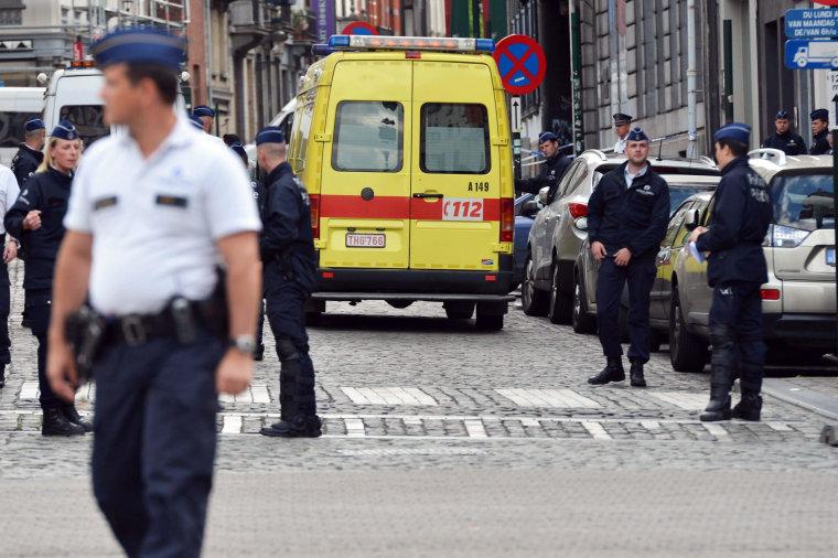 Image: Three shot dead near Brussels Jewish Museum