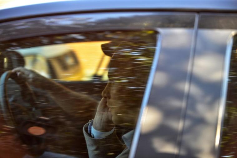 Image: Pistorius arrives at Weskoppies Psychiatric Hospital