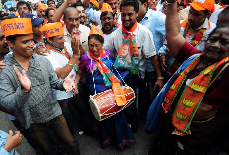 Image: Narendra Modi swearing in