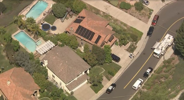 Image: Four people were discovered dead in a home in Mission Viejo on May 27, 2014