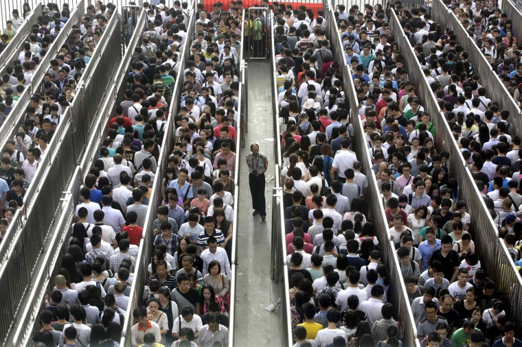 Beijing Subways Introduce 'Anti-Terror' Checks