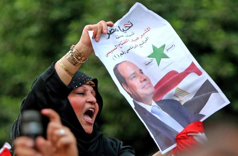 Image: EGYPT-VOTE
