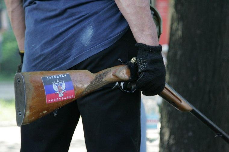 Image: Unrest in Eastern Ukraine