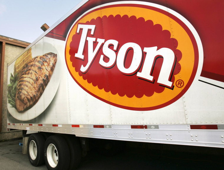 Tyson Foods makes $6.2B bid for Hillshire Brands, two days after Pilgrim's Pride offered $5.58 billion for the sausage maker.