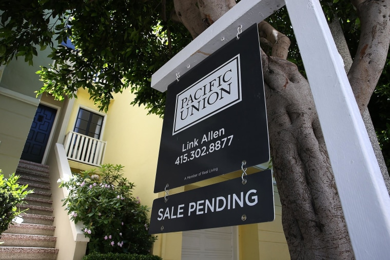 More Americans signed contracts to purchase homes in April than March, but the pace of buying is still weaker than last year, as higher prices and relatively tight supplies have limited sales.