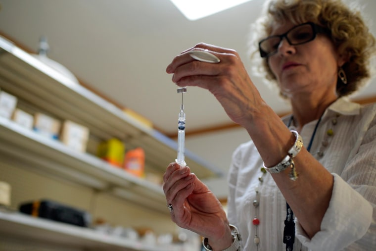 Image: Immunization drive against measles, mumps and rubella