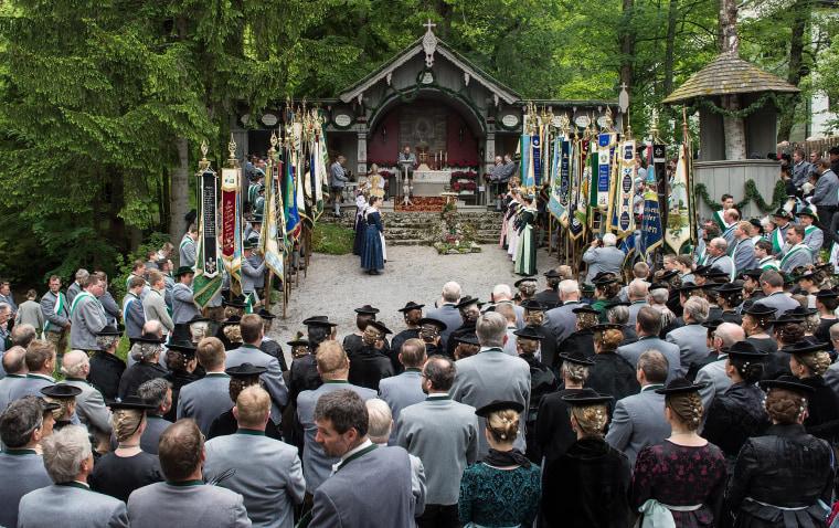 Image: Pilgrims Celebrate Ascension In Bavaria