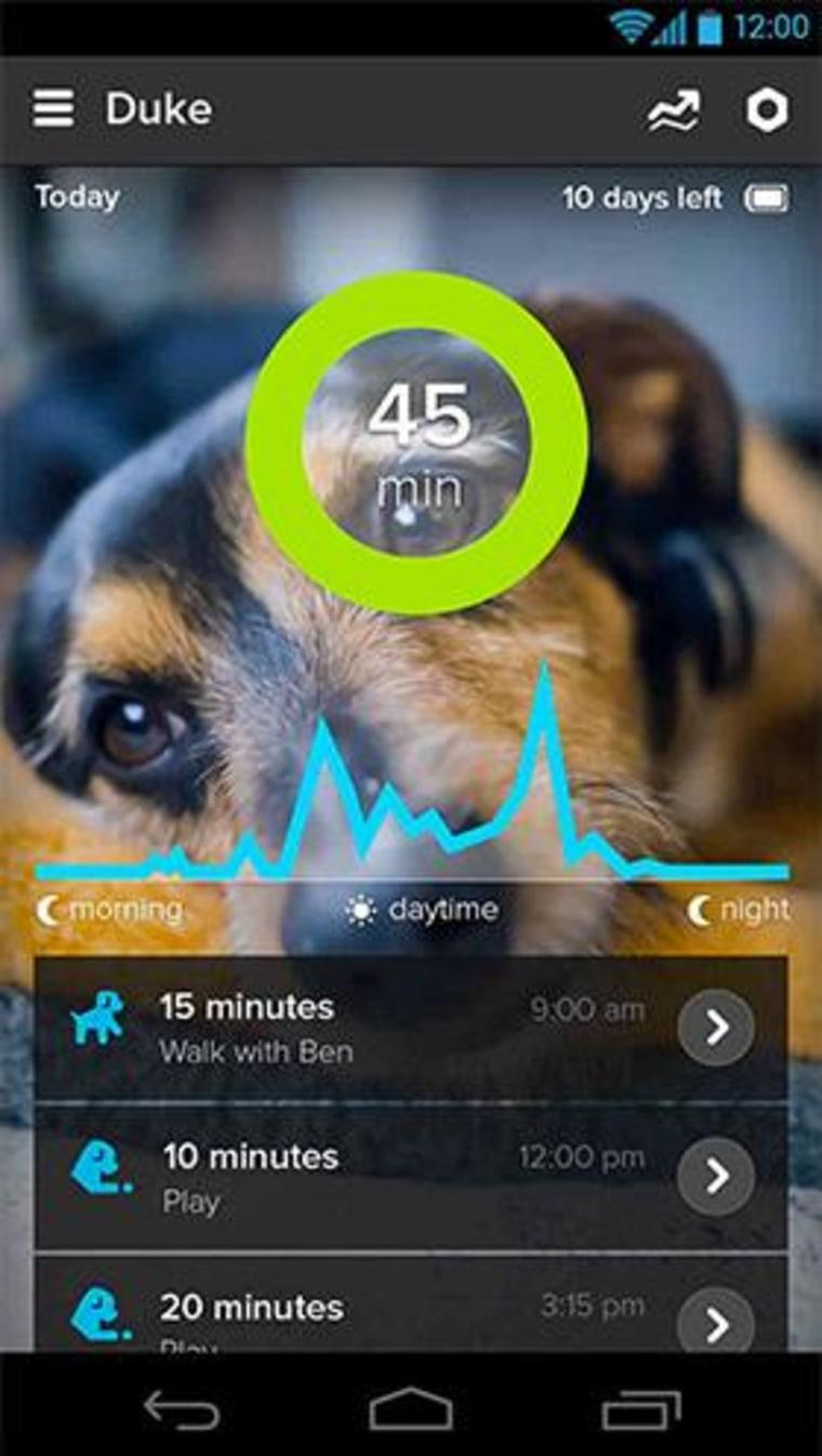 Image: Whistle app.