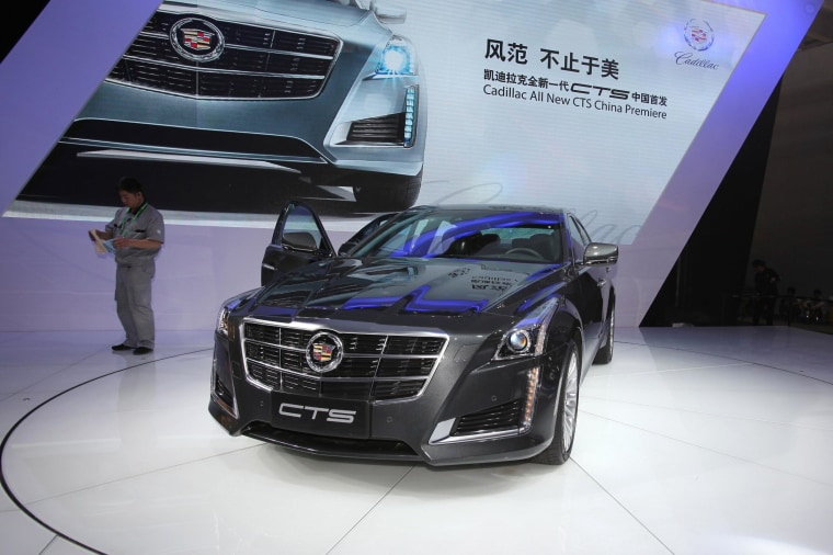 The Cadillac CTS is one of eight vehicles that earning a top rating from a safety watchdog that tested its autobraking systems.