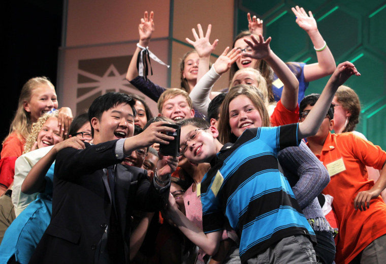 Image: Students Compete In Annual Scripps National Spelling Bee