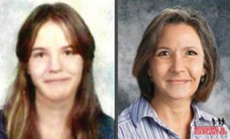 Image: Karen Kamsch was last seen in 1976; at right, an age progression shows how she might look today